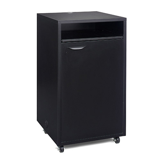 Locking Pedestal - Black